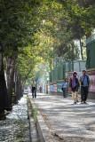 Walking alongside the US Embassy  - Tehran