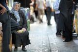 Woman resting - Hamedan