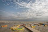 Boats on the Caspian sea - Bandar Torkaman