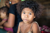 Young Aeta girl