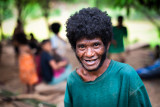 Smiling Aeta man