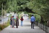 Women talking - Khorog