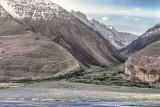 Afghan village - viewed from Vichkut