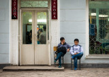 Outside hair salon - Dushanbe