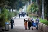 Friends walking - Dushanbe