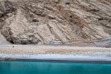 Walking by the Panj River - Badakhshan