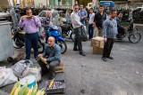 Eating corn - Tehran