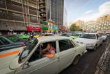 Stuck in traffic - Tehran