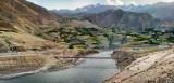 Tajik Afghan border bridge - Badakhshan