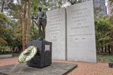 Mahatma Gandhi statue in Mexico City