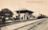 Marshfield Station Postcard 2