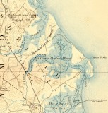 1927 Topographical Map of Marshfield (showing railroad route)