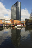 Hyatt Hotel and Gas Street canal basin