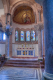 Altar and mosaic