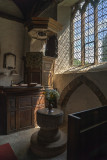 Font and pulpit