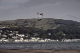 Kite surfer and Aberdovey