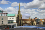 St Martin's Church and Bull Ring Shopping Centre