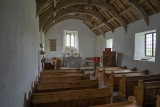 Church at Mwnt - interior view