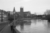 Cathedral from Worcester Bridge II