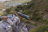 Train approaching Aberdyfi