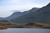 Cadair Idris from the Cregennen Lakes