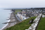 Looking east from Criccieth Castle
