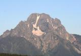 Mount Moran; elevation 12,605 feet