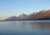Sunrise at Jackson Lake