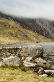 Heavy cloud at Cwm Idwal