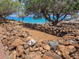 Lapakahi State Historical Park -- structure for storing boats