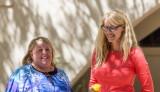MA recipient Erin Brown-Meeks with Dr. Chaiken