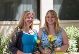 Friends from Alamagordo childhood Kate Gomolak and Kobi Weaver