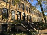 The houses of Leavitt Street, Bucktown Chicago