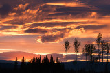 Sunset on BC HWY 5