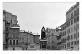 Giordano Bruno sotto la neve