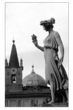 Piazza del Popolo Cupola di S_M_Miracoli