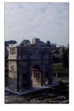 L' Arco di Costantino dal Colosseo