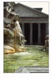 Pantheon e la fontana della rotonda
