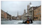 Piazza Navona durante la nevicata3.