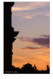 Roma dalla salita del Grillo