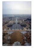 San Pietro dalla cupola con Pioggia