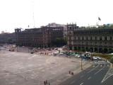Zocalo Main Square in Mexico City
