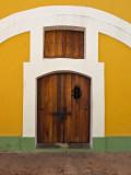 Door - El Morro Fort