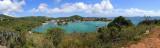 Cruz Bay panorama