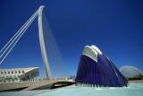 Valencia art and science city.