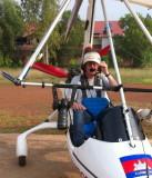 SIEM REAP - Above Angkor microlight flight