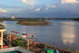 View of Mekong from Vansana Riverside Hotel