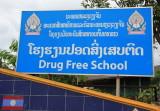 Drug free school!