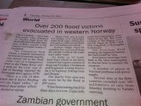Vientiane Times. Not so good news from my home country...