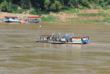Car ferry across Mekong
